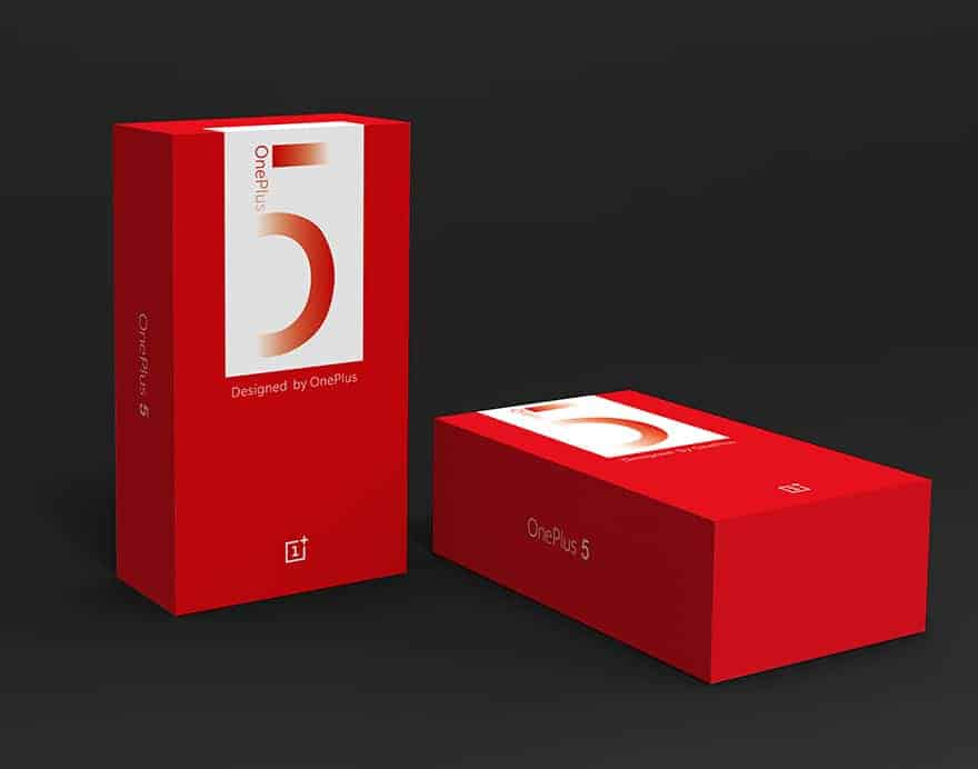 OnePlus 5 retail packaging prospect 7