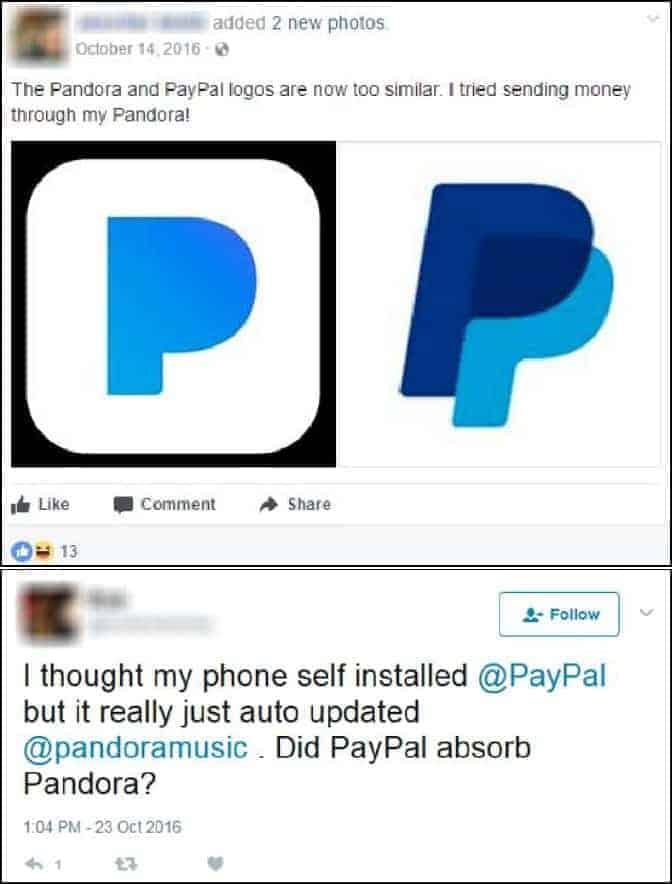 PayPal Pandora Logo Issue 1