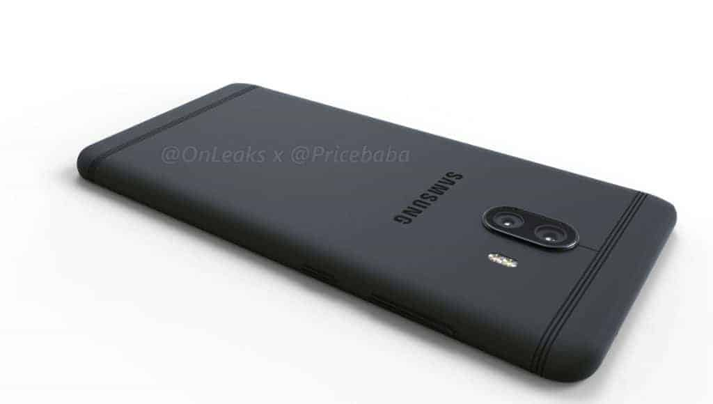 Samsung Galaxy C10 Render Leak 1