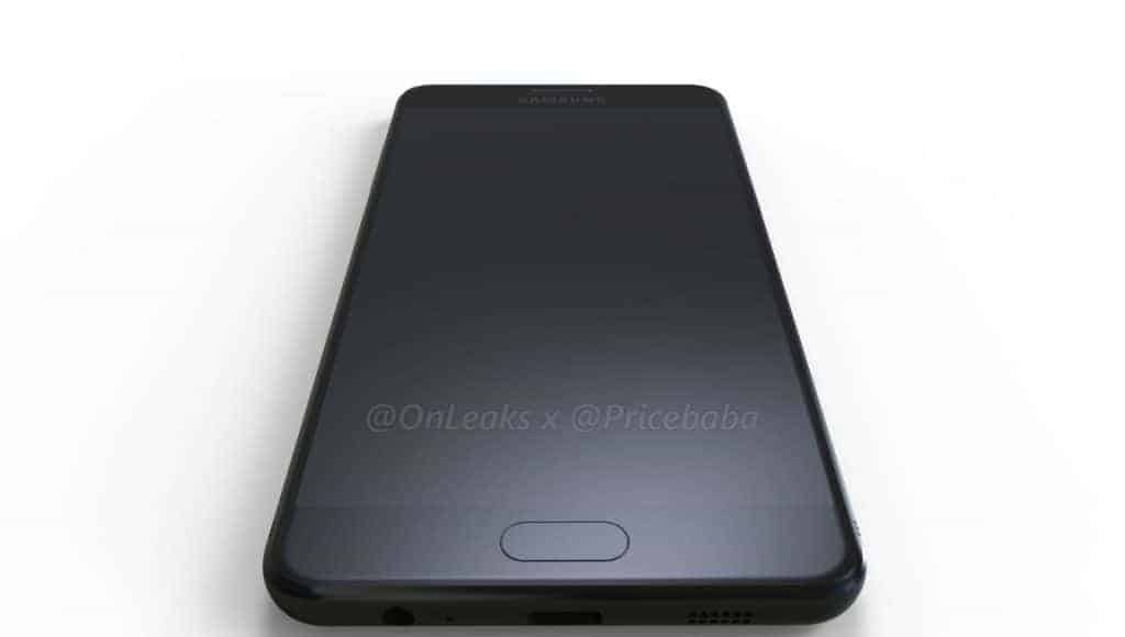 Samsung Galaxy C10 Render Leak 3