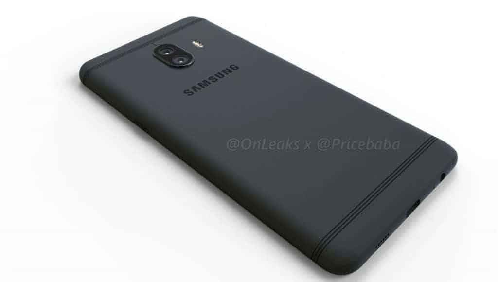 Samsung Galaxy C10 Render Leak 8