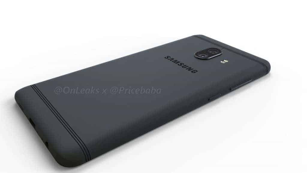 Samsung Galaxy C10 Render Leak 9