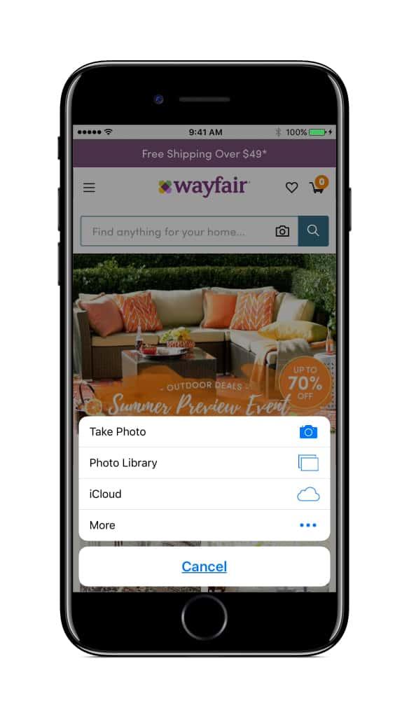 Wayfair Visual Search 3