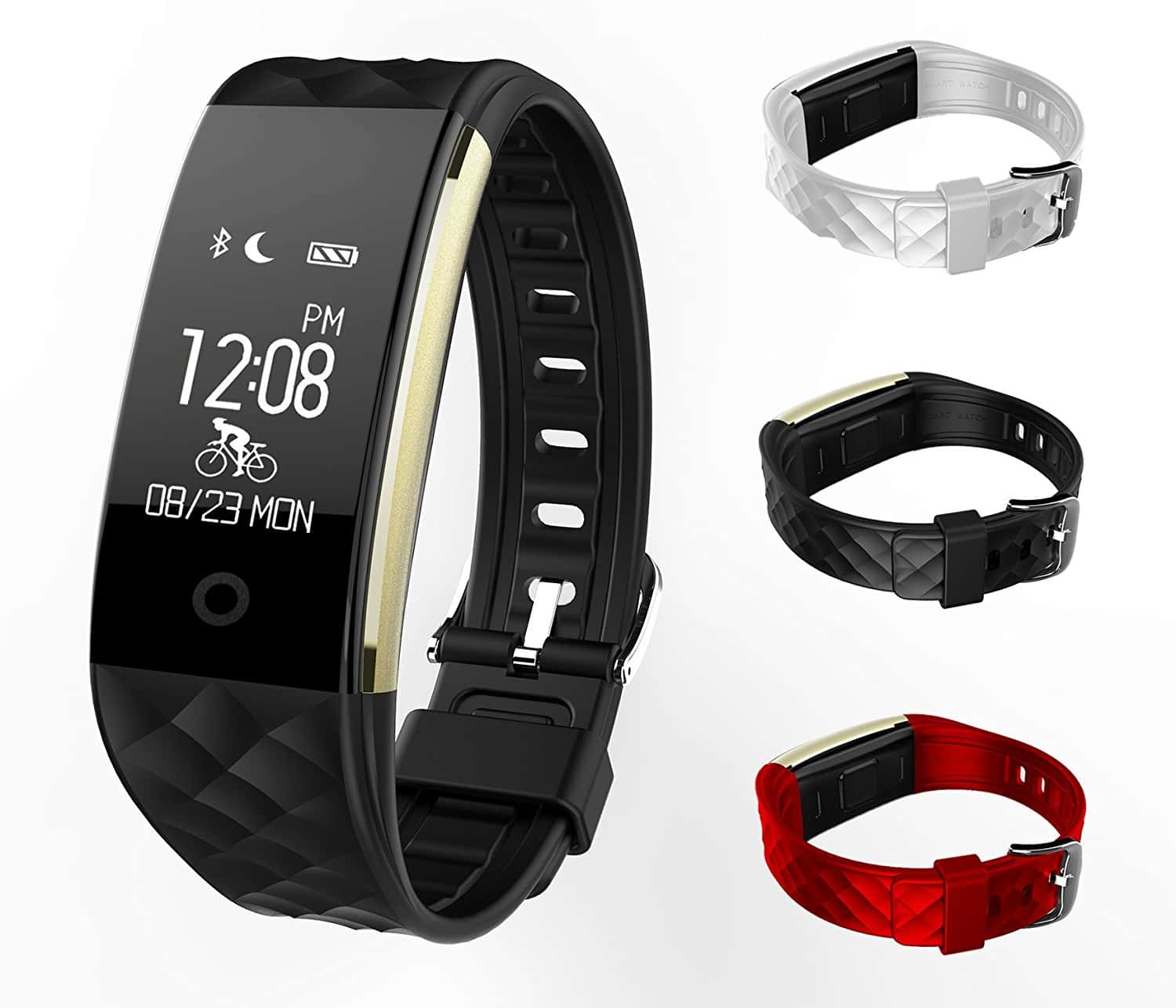 hear monitor tracker watches the of fitmate black wristband dubai bazaar with smart fitness picture rate