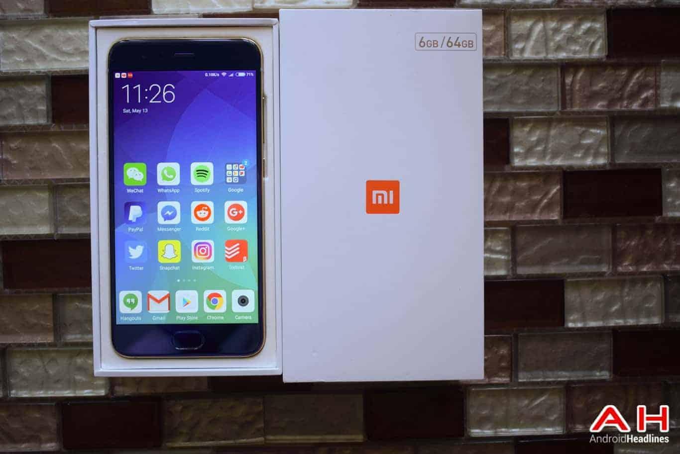 Xiaomi Mi 6 Review AM AH 21