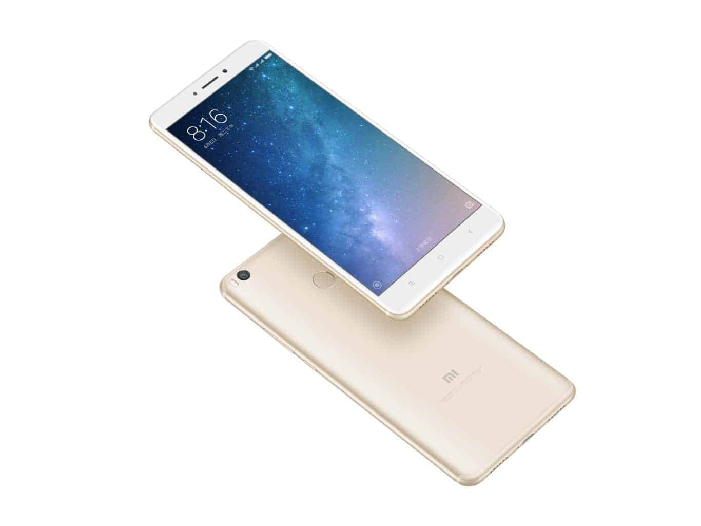 xiaomi mi max 2 is official with a display 4gb of. Black Bedroom Furniture Sets. Home Design Ideas