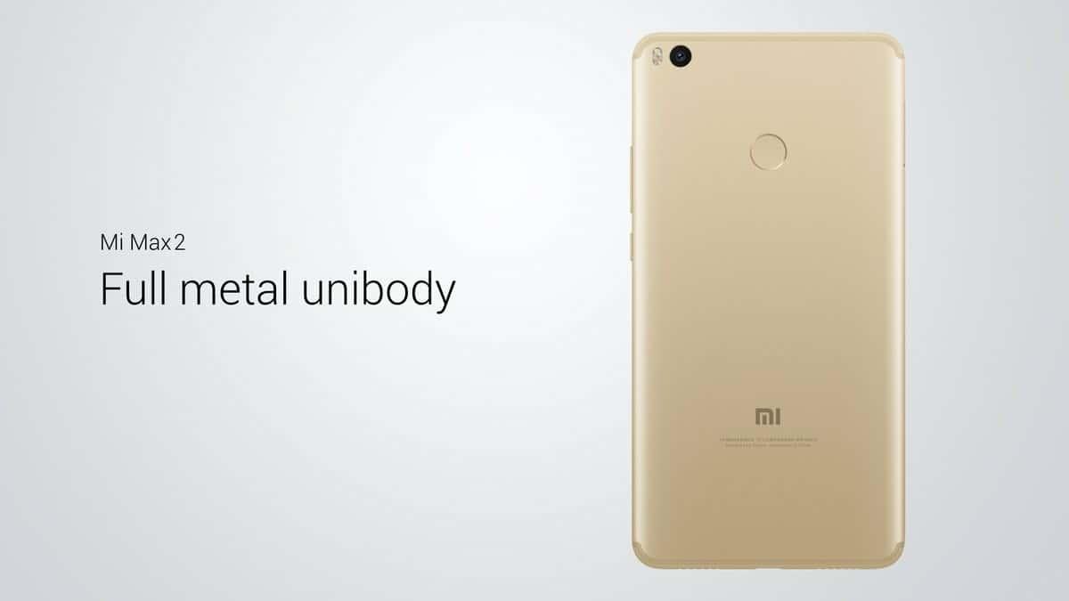 Xiaomi Mi Max 2 5