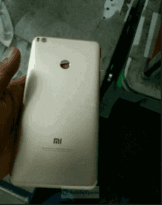 Xiaomi Mi Max 2's Metal Body Appears, Confirms Earlier Leaks