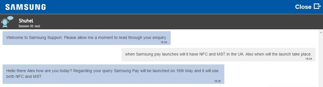 samsung pay uk launch 2