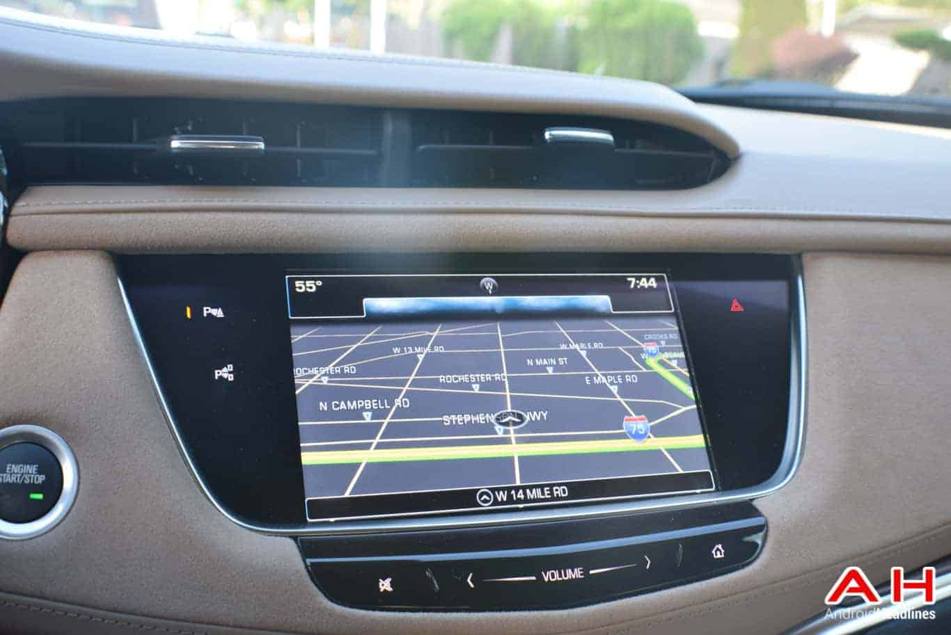 2017 Cadillac XT5 Android Auto Review AM AH 104