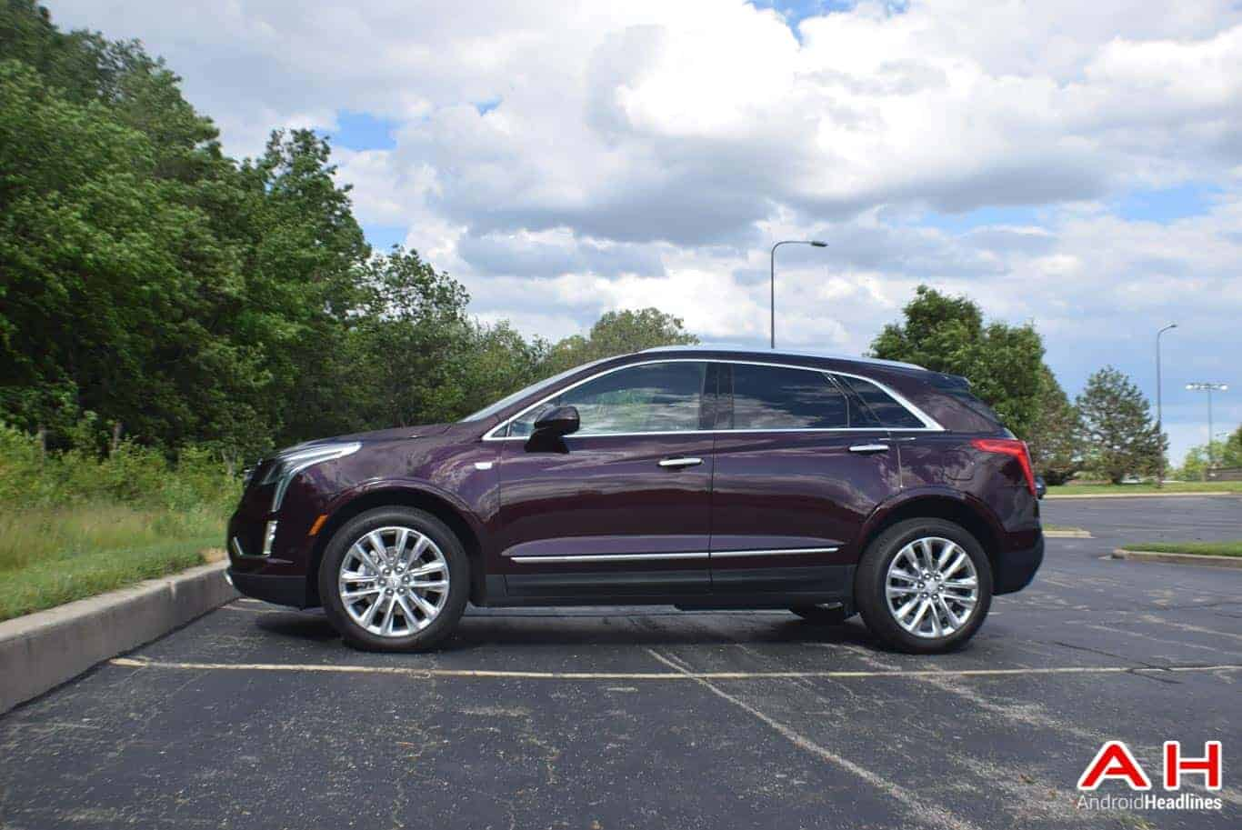 2017 Cadillac XT5 Android Auto Review AM AH 14