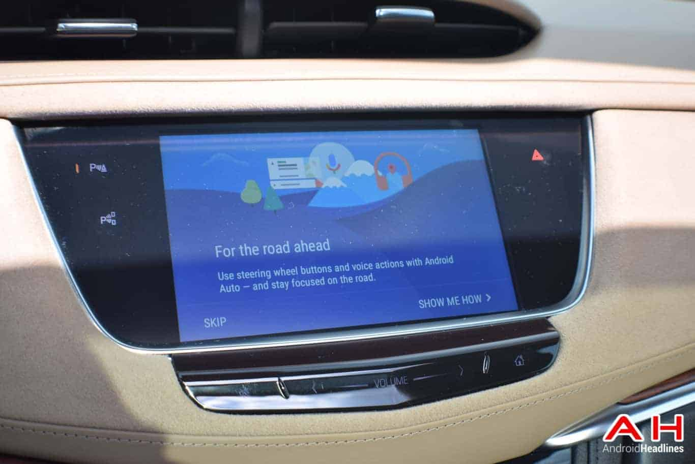 2017 Cadillac XT5 Android Auto Review AM AH 4