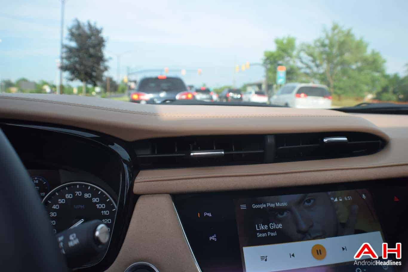 2017 Cadillac XT5 Android Auto Review AM AH 42