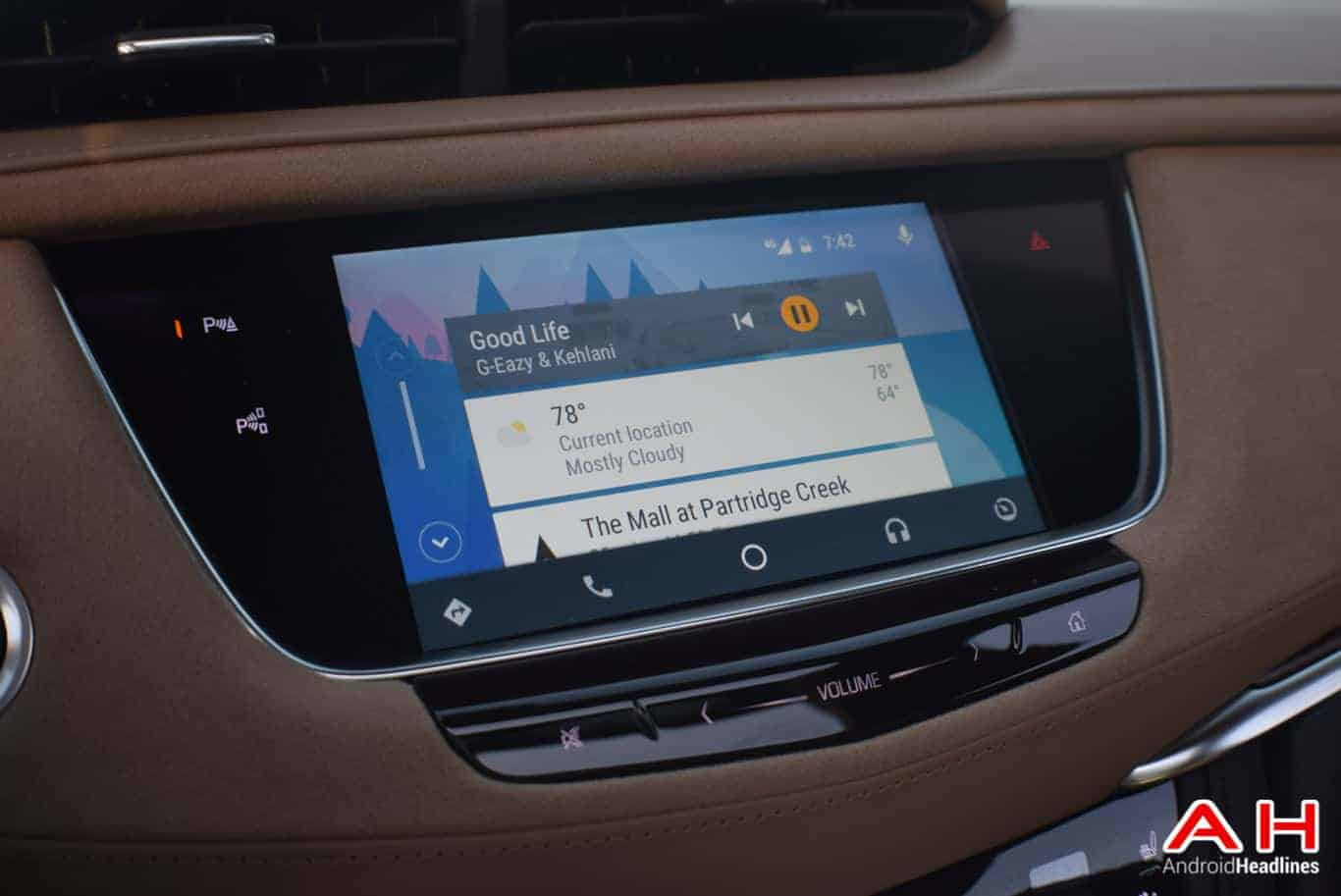 2017 Cadillac XT5 Android Auto Review AM AH 46