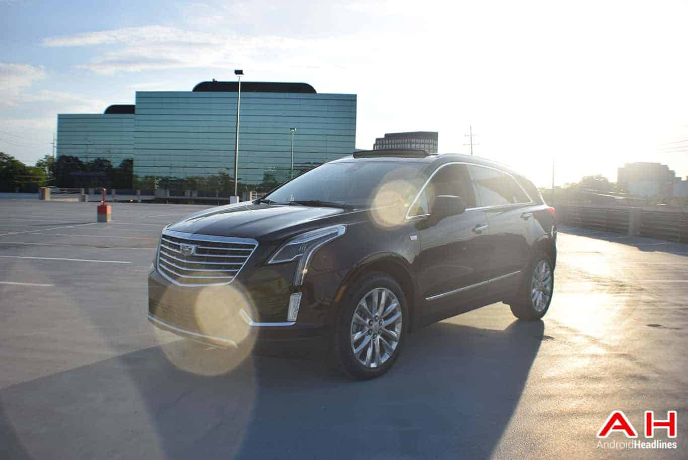 2017 Cadillac XT5 Android Auto Review AM AH 49