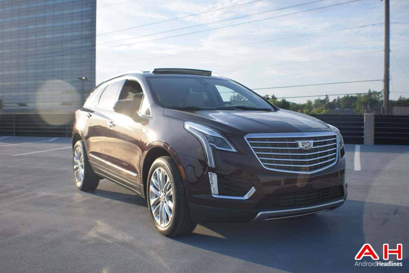 2017 Cadillac XT5 Android Auto Review AM AH 53