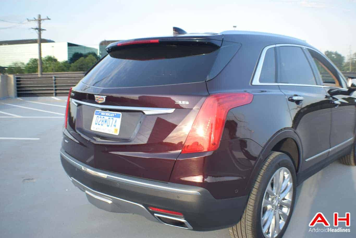2017 Cadillac XT5 Android Auto Review AM AH 63