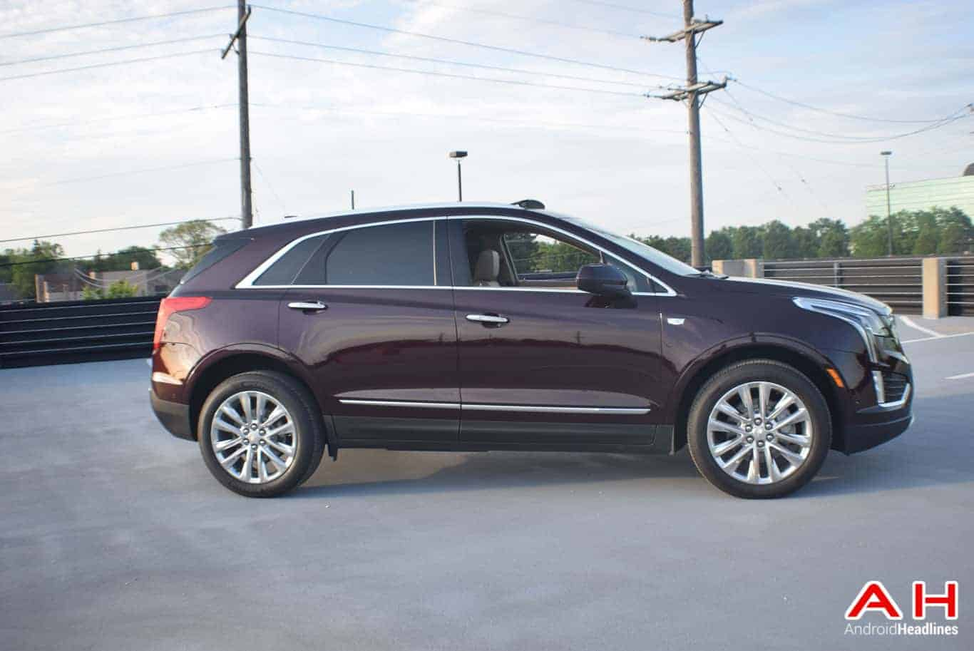 2017 Cadillac XT5 Android Auto Review AM AH 68