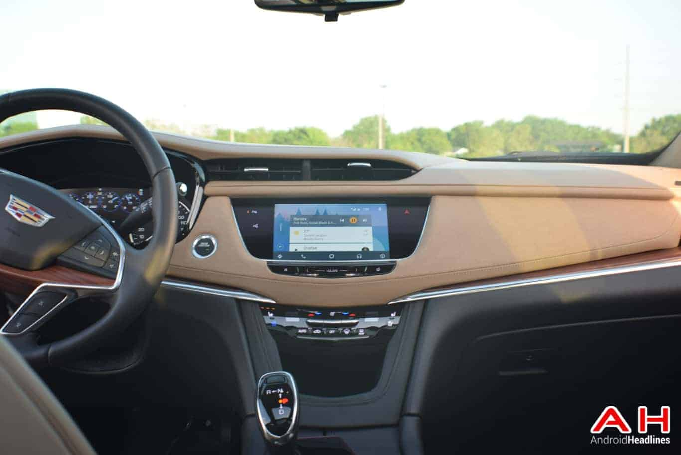 2017 Cadillac XT5 Android Auto Review AM AH 71