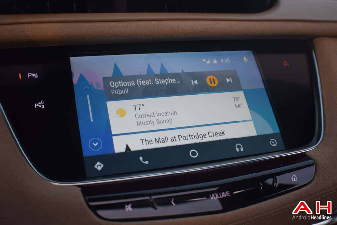 2017 Cadillac XT5 Android Auto Review AM AH 80