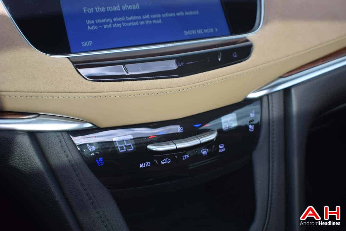 2017 Cadillac XT5 Android Auto Review AM AH 9