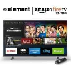 Element's Amazon Fire TV-Powered TV Sets Now Available