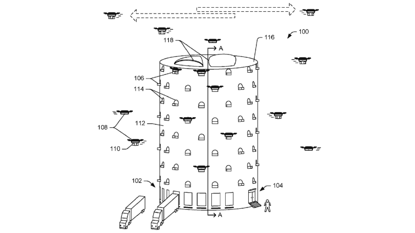 Amazon Drone center