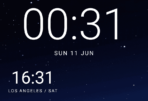 Android O Dev Preview 3 Google Clock AP 2