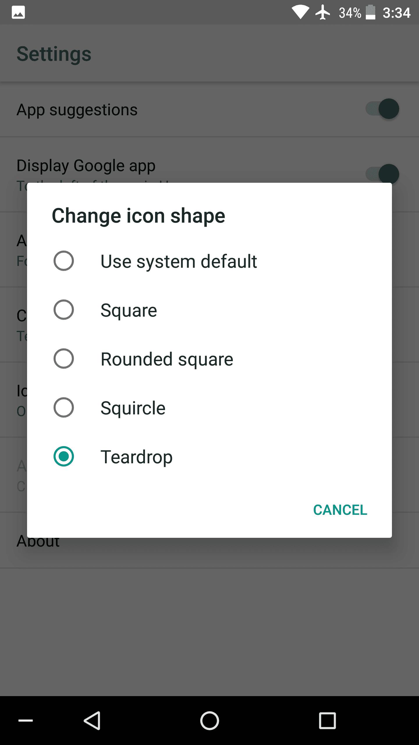 Android O Teardrop AP 1