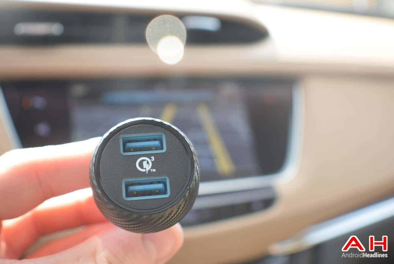 Anker PowerDrive Speed 2 Car Charger Review AM AH 2
