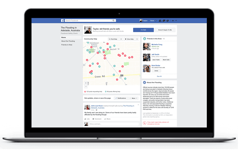 Facebook Safety Features Community Help 1