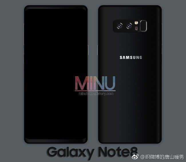 Galaxy Note 8 Leak MINU 1