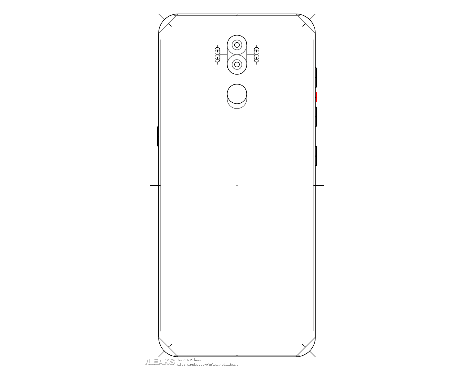 Galaxy Note 8 SlashLeaks Schematics 1