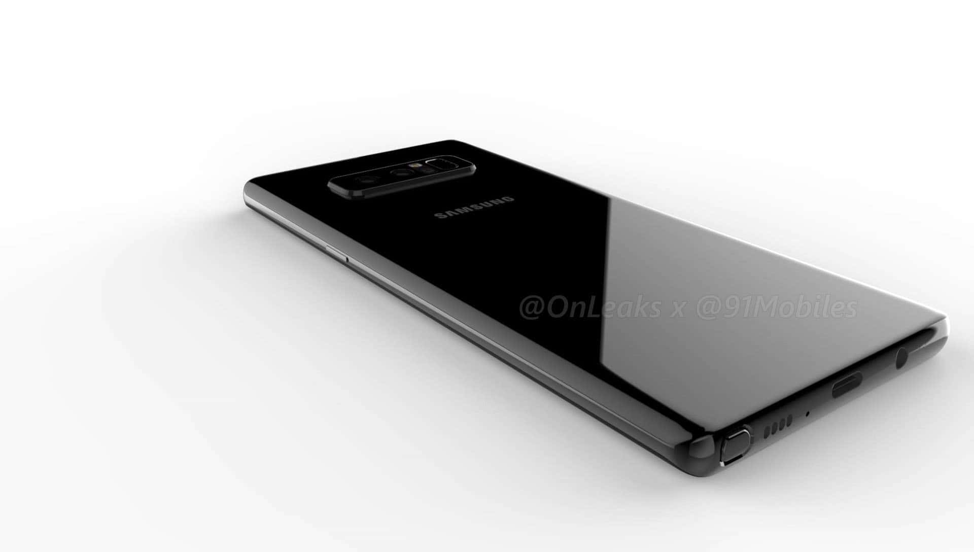 Galaxy Note 8 render leak 111