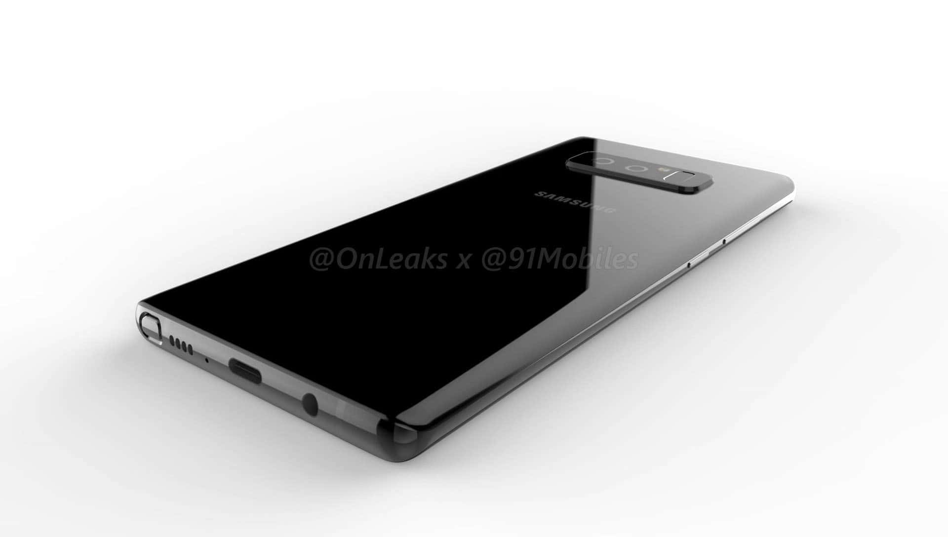 Galaxy Note 8 render leak 113