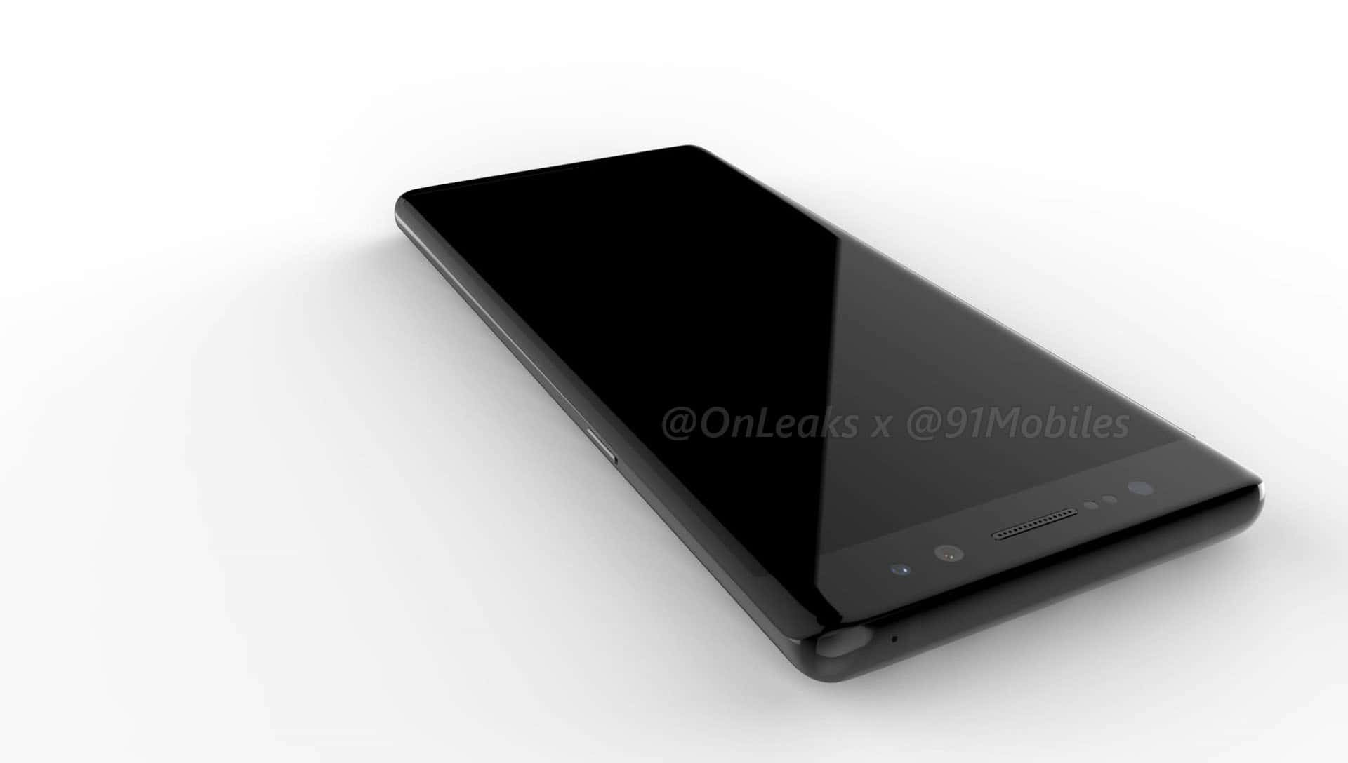 Galaxy Note 8 render leak 121