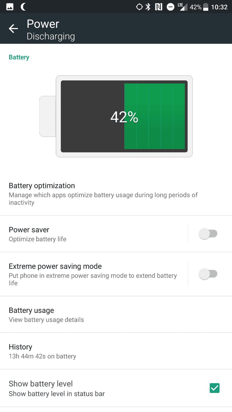 HTC U11 AH NS screenshots battery 02