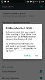 HTC U11 AH NS screenshots edge sense 3