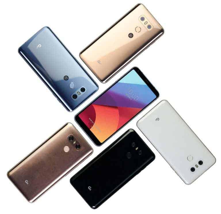 LG G6 new colors Korea 1