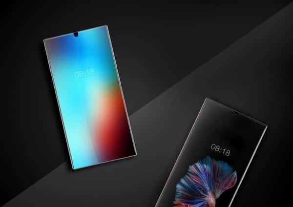 Mysterious Sharp branded bezel less smartphone leak 1