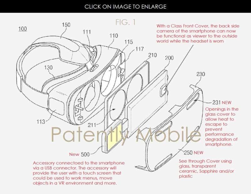 New Samsung Gear VR and Accessory Patents 1