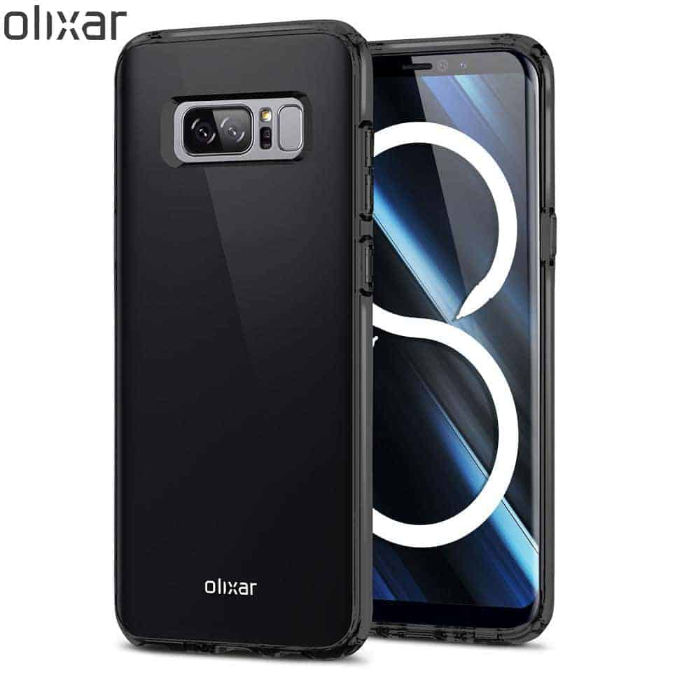 Olixar FlexiShield Note 8 Case Black