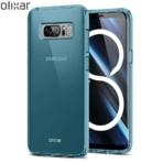 Olixar FlexiShield Note 8 Case Blue