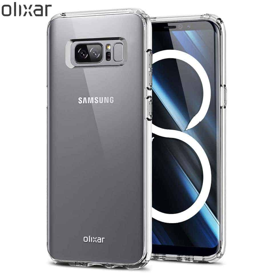 Olixar Ultra Thin Note 8 Case Clear