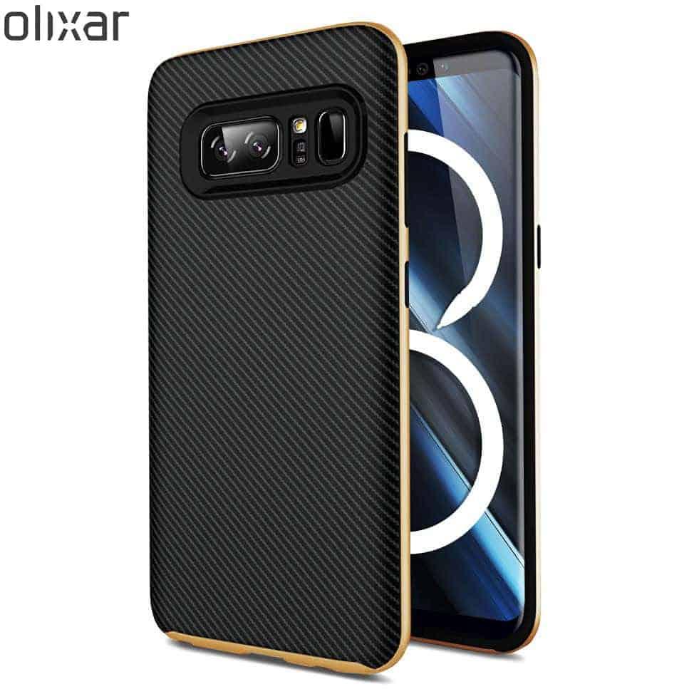 Olixar X Duo Note 8 Case Gold