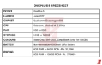 OnePlus 5 4000mAh battery leak 1