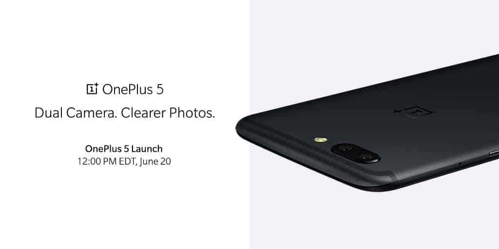 OnePlus 5 First Official Render