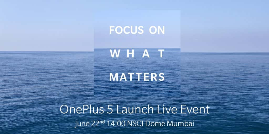 OnePlus 5 India launch date confirmation 1