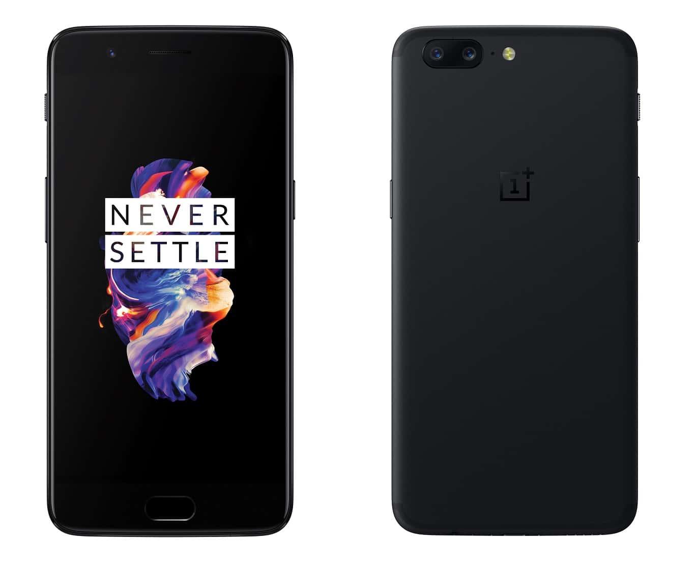 OnePlus 5 Main Black