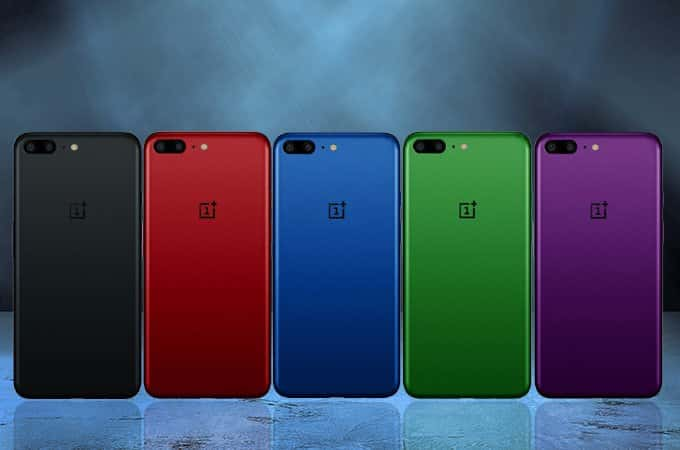 Five Possible Oneplus 5 Colors Shown In Newly Leaked